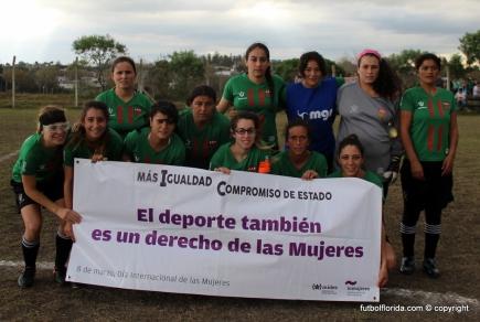Avenida reivindica el derecho de las mujeres. Foto Fanny Ruetalo