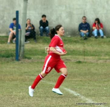 María Godoy hizo 4 goles y es la goleadora del campeonato