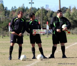 Fabricio Trezza, Alvaro Alanis y Alex Falero. Foto Fanny Ruetalo