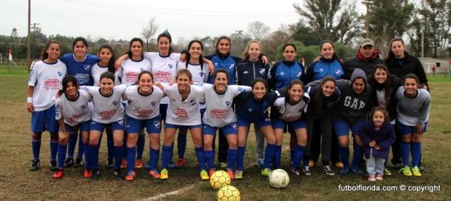 Nacional, Campeonas del Preparación. Foto Fanny Ruetalo