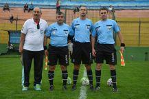 Di Maggio, Presentado, Cabrera y el gran asistente. Foto Ernesto Hornos