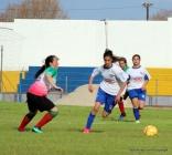 Romina Alanis marc{o el empate para Nacional. Foto Fanny Ruetalo