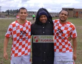 Bernardo, Cono y Esteban Ledesma. Foto Rodrigo Castro