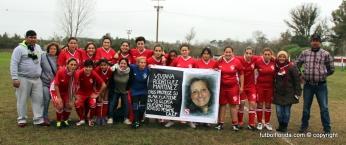 España y el reconocimiento a Viviana. Foto Fanny Ruetalo