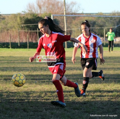 Romina Alanis lleva 8 goles. Foto Fanny Ruetalo