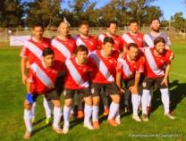 River Plate jugó con camiseta prestada por Santa Bárbara. Foto Rodrigo Castro