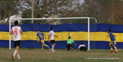 El gol de Rueda para el triunfo de Boquita