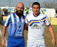 Dos goleadores. Patritti y Schneider