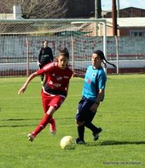 Romina Alanis, la goleadora tricolor. foto Fanny Ruetalo