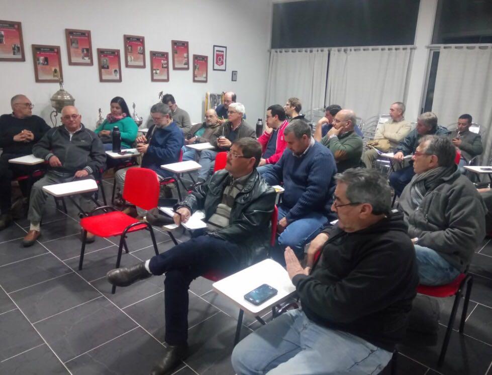 El Sur se reunió en Durazno y no disputaría la Copa de Selecciones 2018
