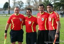 Bragunde con Suarez Othegui junto a Palacios.
