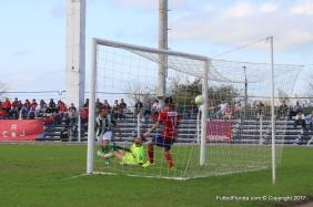 Mascheroni marcó el empate en el momento justo