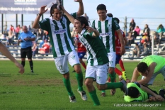 Leandro Navia anotó el segundo y le dio la tranquilidad al equipo