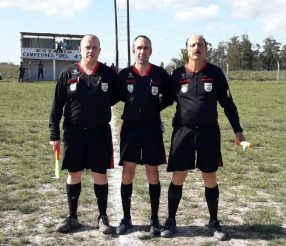Gerardo Rotulo, Cesar Martinez, Mario Ortiz. Foto Gustavo Facciola