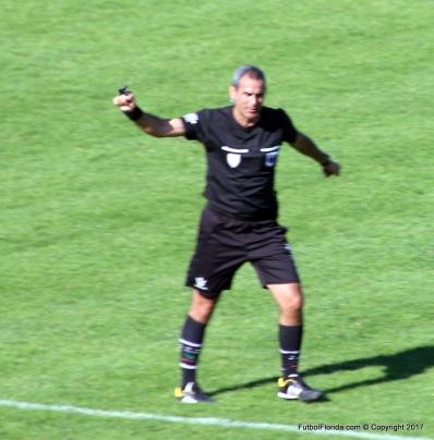 Fernando Di Maggio el árbitro de la segunda semi