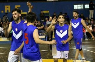 quilmes basquet festeja