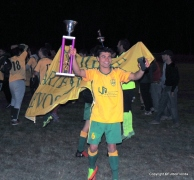 Matías Cuadri, de Boquita a Fraternidad para repetir victorias. Foto Dino Cappelli