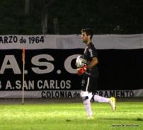 Fabio García atajó todo.