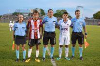 Javier Rodriguez, Miguel Cabrera, Valeria Adán y capitanes. Foto Ramón Mesías