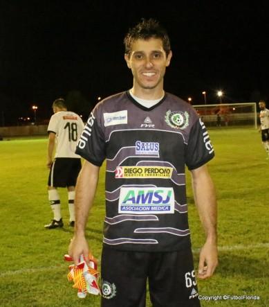 Fabio García el soporte de la clasificación maragata.