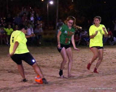 Las Indecisas vencieron a Avenida en el 1er partido. Foto Noelia Regusci