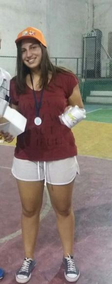 Florencia Porley. Corrección deportiva