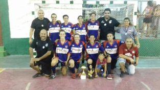 Las chicas de Lavalleja fueron campeonas por penales. Foto Robert Yanes